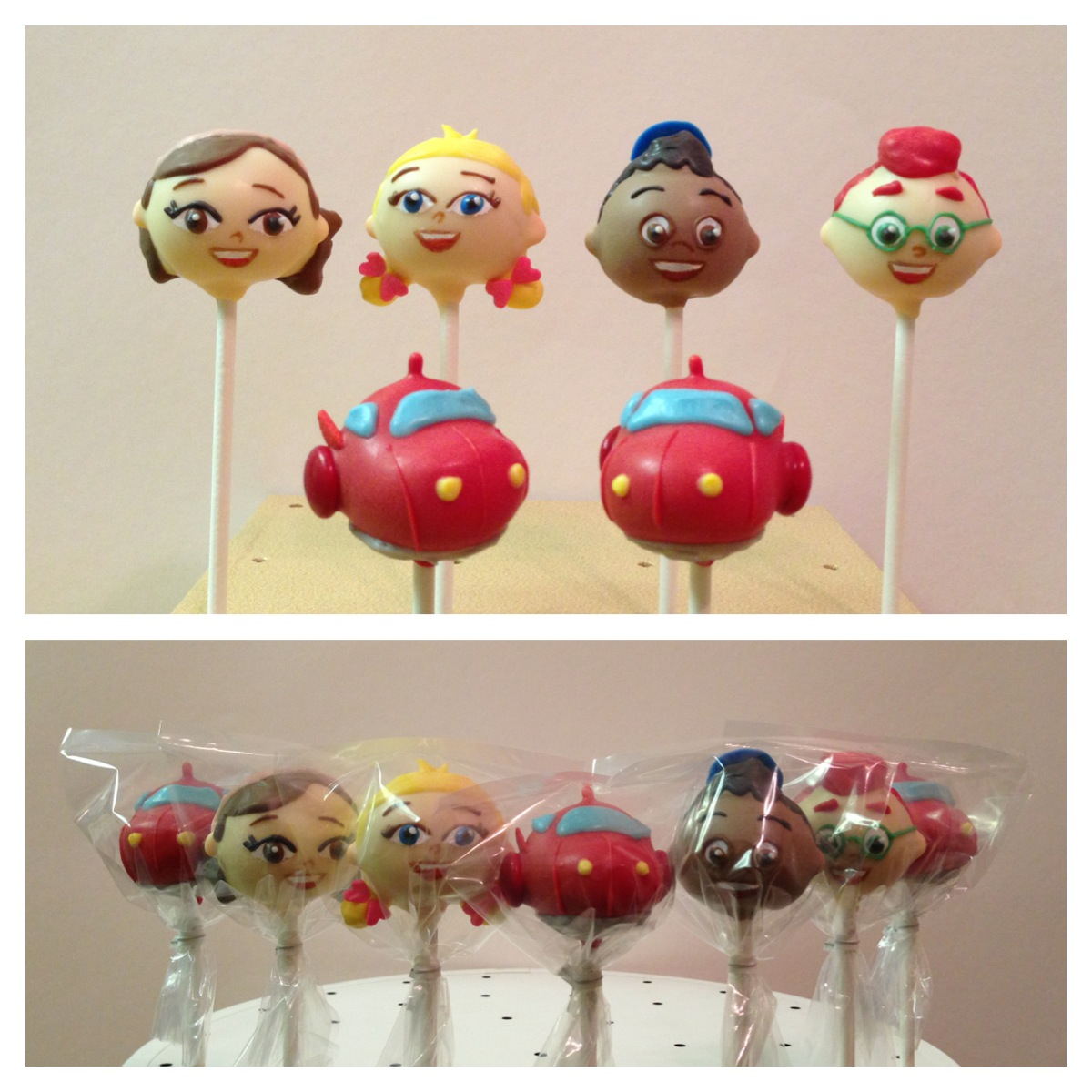 Little Einsteins Cake Pops