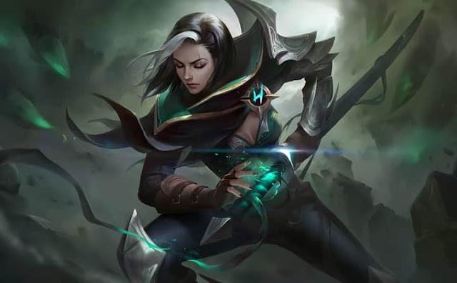 Benedetta Shadow Ranger Heroes Assassin of Skins ML HD Wallpapers