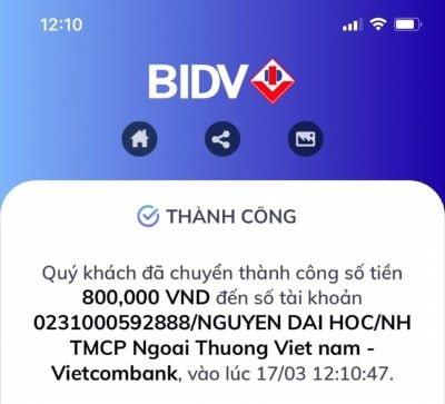 Trùn quế Quảng Nam nhận tiền