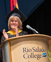 Photo of Kate Smith at 2019 commencement ceremony