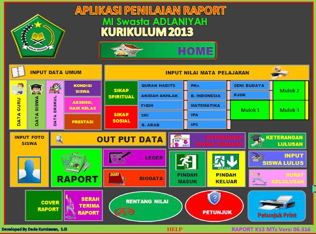 Www Rpp Sd 2013 Rpp Kurikulum 2013 Dan Silabus Kelas 6 Sd Agus Chandra Download Aplikasi Raport Kurikulum 2013 Raport K13 Untuk Mi Versi