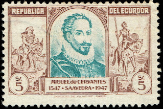 1949 - 400th Anniv. of the Birth of Miguel De Cervantes Saavedra