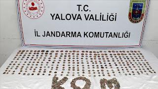 الدرك التركي يستدرج شخصا حاول بيع 862 عملة أثرية