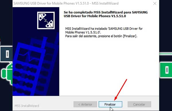 Controlador USB de Android para Windows