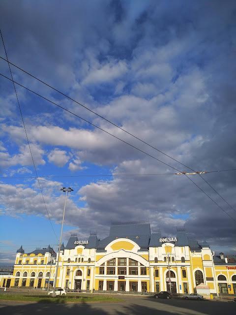 Томск, железнодорожный вокзал 1