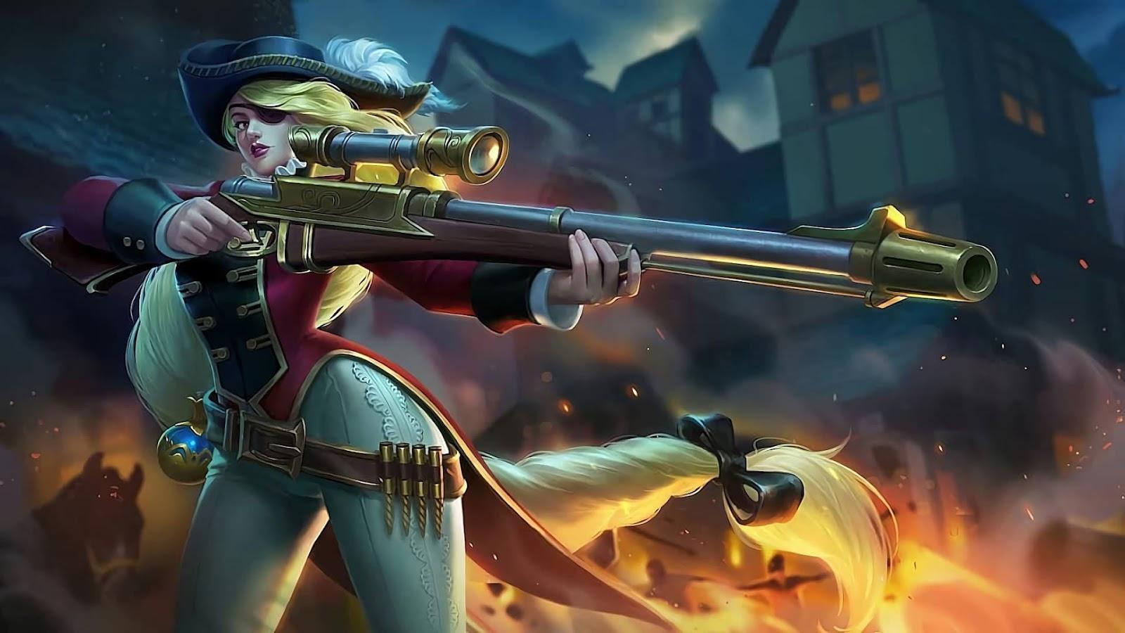 Wallpaper Lesley Royal Musketeer Skin Mobile Legends HD for PC