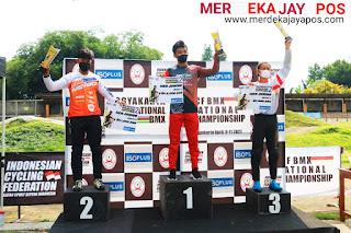 Pemenang ICF BMX International Championship Round 2 DIY