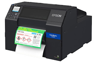 Epson ColorWorks CW-C6500P Driver Download And Review