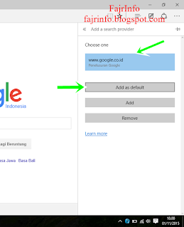 Cara Mengubah Pencarian Microsoft Edge Menjadi Google Di Windows 10