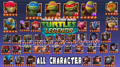 Download Game Teenage Mutant Ninja Turtles: Legends Reedem Code Card Full Version