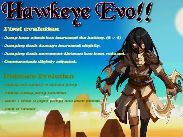 Hawk Eye Evolution Lost Saga Indonesia