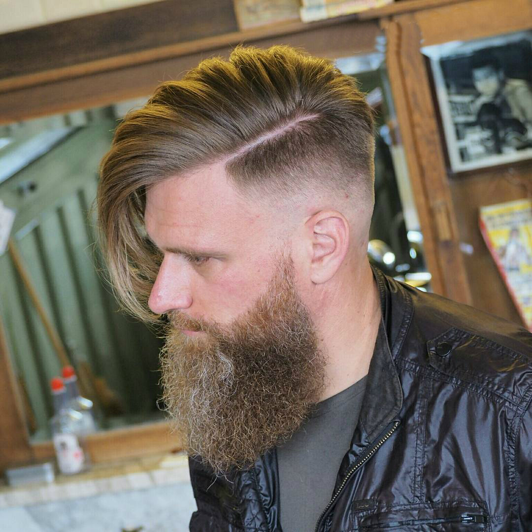 Cool Classic Beared Men S Hairstyles Motivational Trends