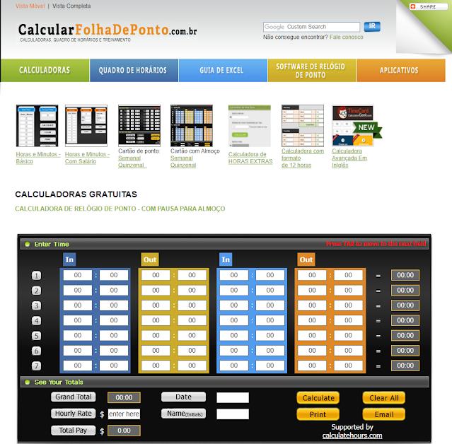 calcular-folha-de-ponto-online-calculadora-online