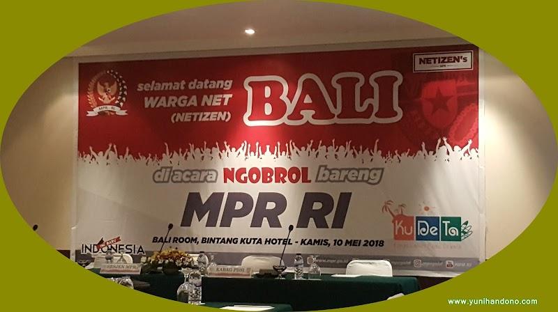 Pentingnya Kolaborasi MPR RI Bersama Netizens Bali Terkait Sosialisasi Empat Pilar Kepada Masyarakat