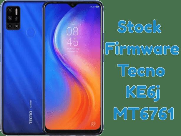 تفليش وتحديث جهاز  Stock Firmware Tecno KE6j MT6761