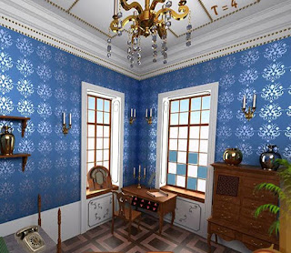 Old blue Room Escape  Juegos de Escape Escape Games