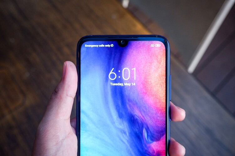 Redmi Note 7 Review Display Notch