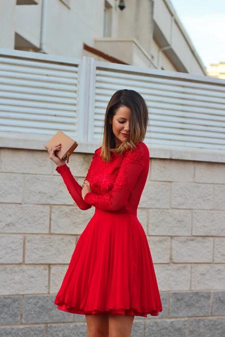 vestidos rojos para ir a una boda