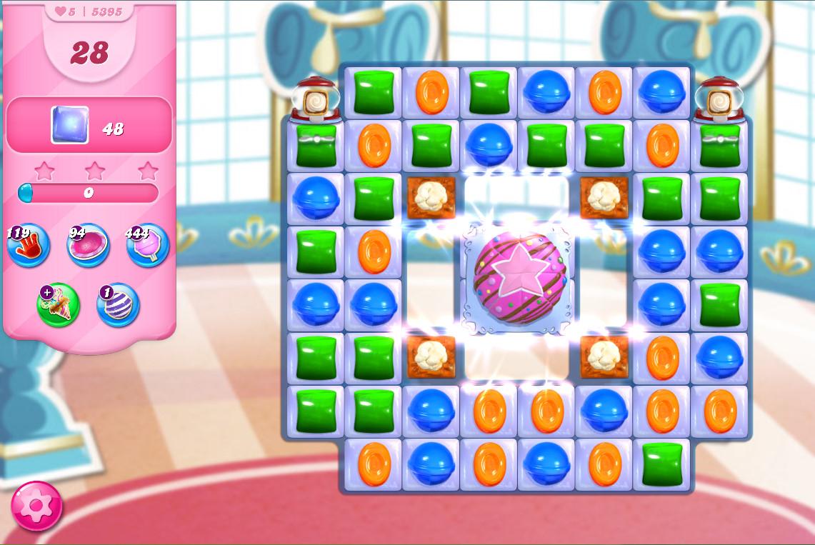 Candy Crush Saga level 5395