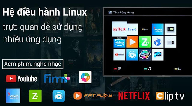 Android Tivi Sony 4K 43 inch KD-43X8500G/BK/S