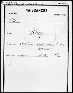 Naissance de Léopoldine Hugo