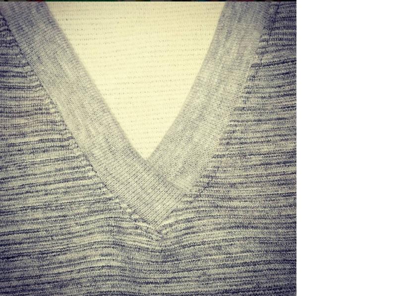 La costurera entrometida: Tutorial: Cuello de puño en V