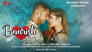 Baarish Lyrics - Manzar & Rukhsar Bandukia