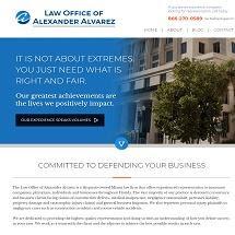 Law Office of Alexander Alvarez - Miami Insurance Defense Law Firm