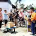 Penyerahan Bantuan Korban Kebakaran di Tiakar