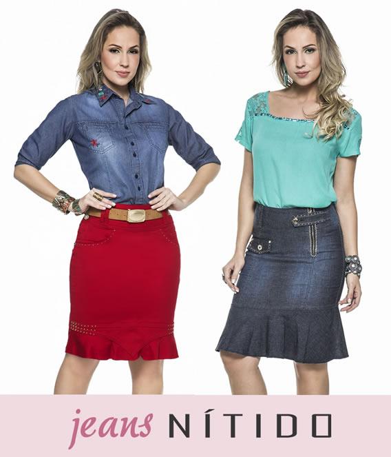 Jeans Nítido para o Alto Verão 2017