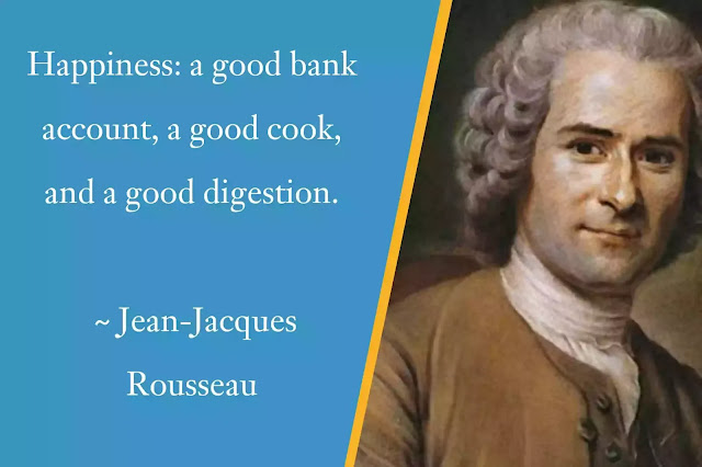 Jean-Jacques Rousseau Happiness Quotes