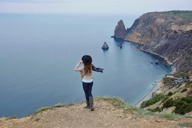 что посмотреть в Крыму - мыс Фиолент