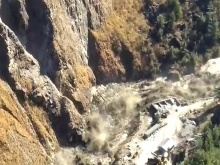 India, Rishi Ganga and Dhauliganga rivers are buried in Chamoli due to the breaking of the glacier, about 170 people are feared dead