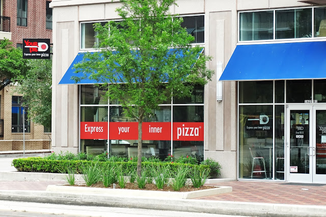 Your Pie Pizza shop at the SkyHouse 1625 Main St, Houston, TX 77002