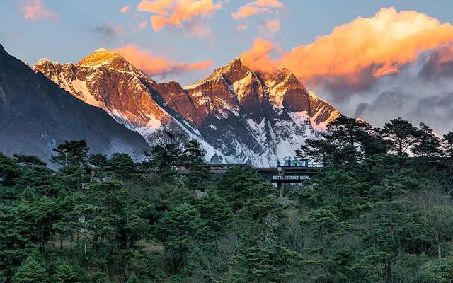 Chiêm ngưỡng những ngọn núi đẹp nhất hành tinh