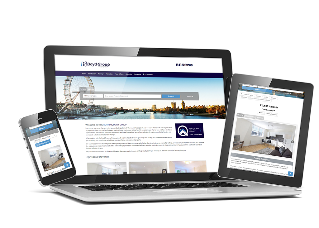 Flex real estate websites launches in in the UK