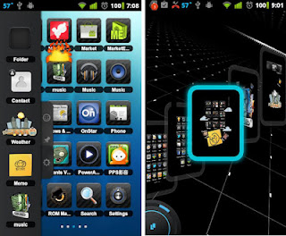 Description: tsf shell 3d android launcher