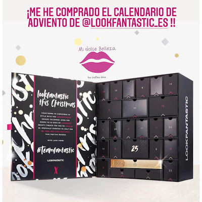 Calendario adviento Lookfantastic 2020