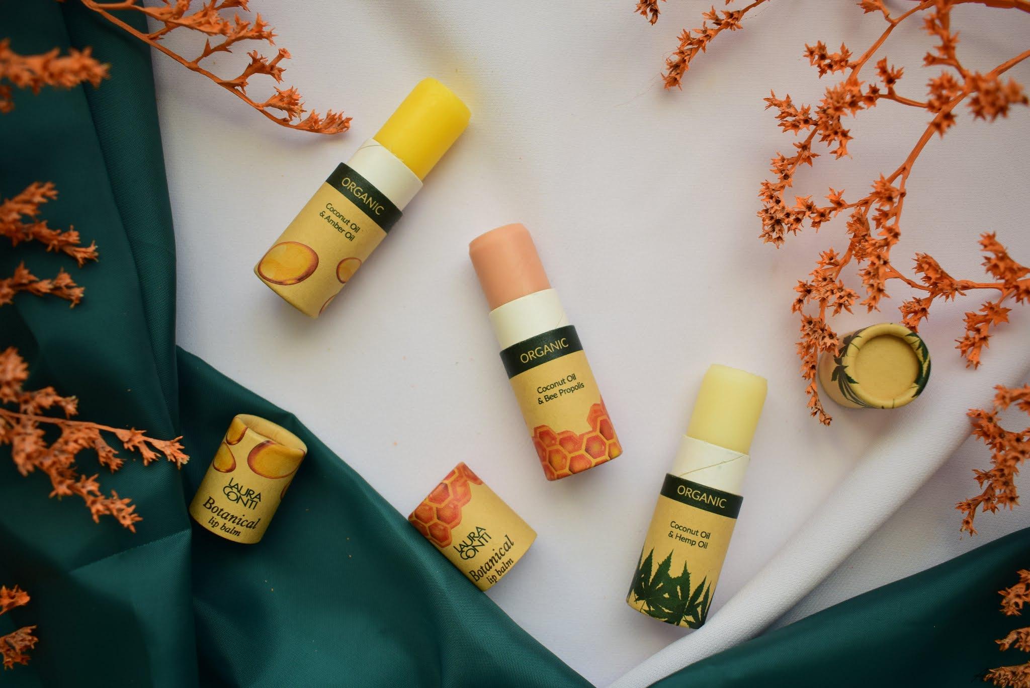 organiczne balsamy do ust