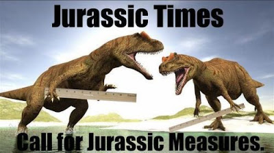 Jurassic Times Call for Jurassic Measures