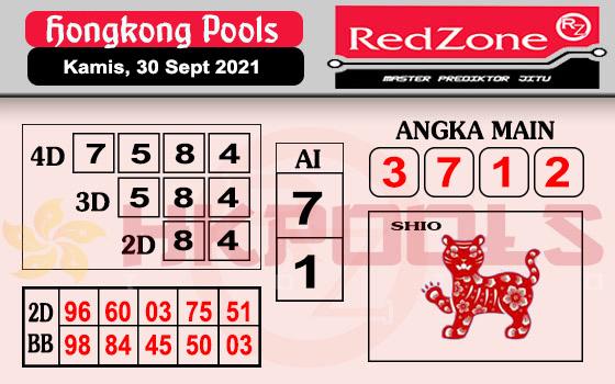 Redzone HK Kamis 30 September 2021 -