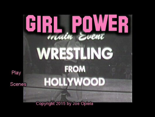 "NOW AVAILABLE: Vol V ""Girl Power"" women only - All the ladies matches on one DVD Byers Combs Banner Lawrence LaMonte"