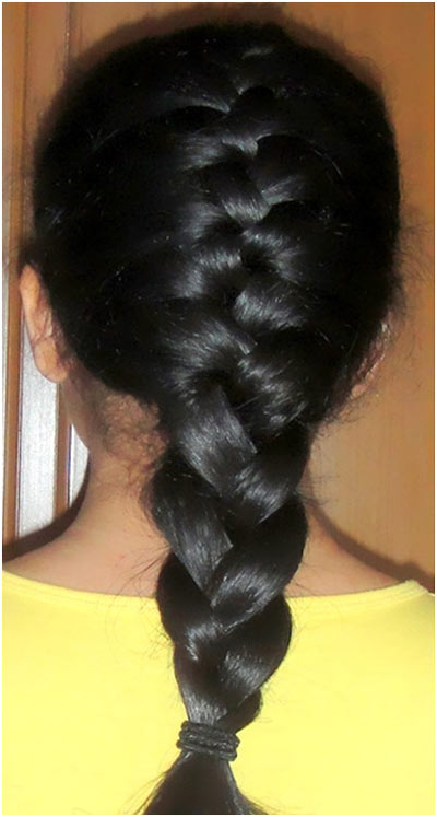 Entirely From Heart Indian Braid Hairstyles That You Can Try Too