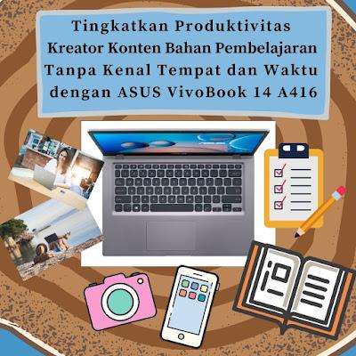 Tingkatkan produktivitas dengan asus 14 a416
