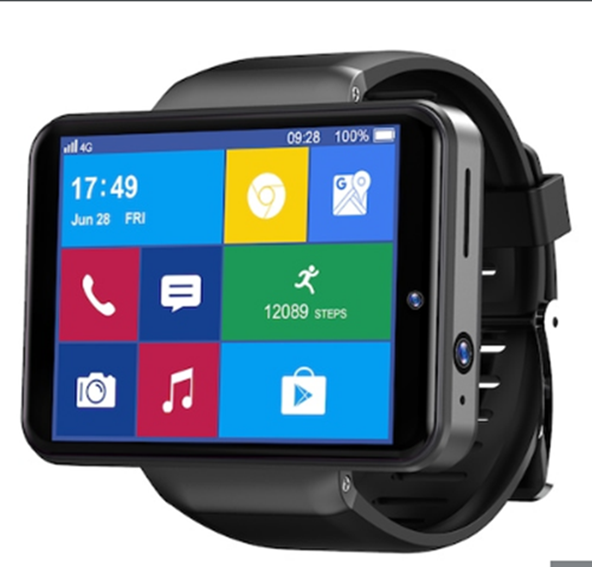 Ticwris Max-S Smart Watch Android 7.1 Quad Core 3GB - 32GB Smartwatch Heart Rate Pedometer IP67 Waterproof - 50% OFF