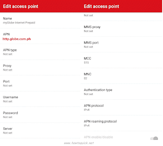 How To Activate Your TM (Touch Mobile) GPRS / 3G / MMS and APN Settings to Connect to the Internet