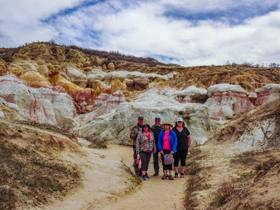 A Group Outing to the Paint Mines Interpretive Center