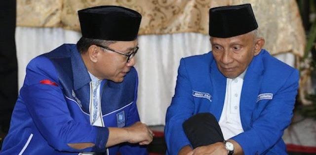 PAN: Amien Rais Tak Akan Bertarung dengan Zulkifli Hasan