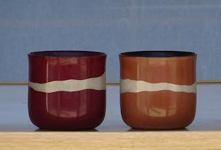 毎日使っている輪島塗の湯呑茶碗