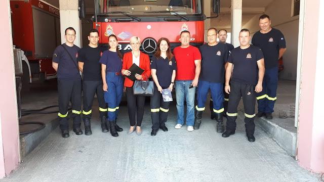 Συνάντηση της Σόνιας Τάνταρου Κρίγγου για τα προβλήματα της Πυροσβεστικής